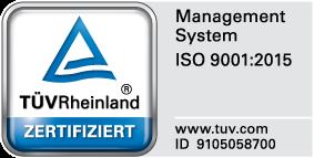 Zertifizierung Sirocco GmbH